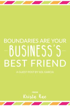 Over-demanding clients, late payments, scope creep, and many other things that happen in professional-client relationships are enough to make you cringe. That's why boundaries are your business's best friend! Creative Business, Business Tips, Online Business, Business Marketing, Online Marketing, Content Marketing, Finance, Time Management Tips
