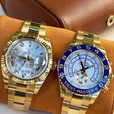 Golden Duo is dedicated to @watchfashionbible  congrats for reaching 100... | http://ift.tt/2cBdL3X shares Rolex Watches collection #Get #men #rolex #watches #fashion