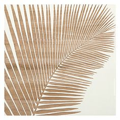 Palm Leaf Panel 1 | Wall Decor | Mirrors & Wall Decor | Decor | Z Gallerie
