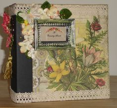 """A Country Stroll"" Handmade Photograph/Memory/Scrapbook Album OOAK by Enchanted Revelries, $60.00 USD"