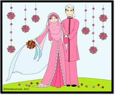 image, picture, relationships, Muslim couples image source A Muslim woman is allowed to approach a man with a marriage proposal, i. Wedding Images, Wedding Cards, Muslim Pictures, Happy Married Life, Cute Muslim Couples, Fashion Drawing Dresses, Couple Cartoon, Digital Invitations, Invitation Cards