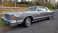 1977 Mercury Grand Marquis Maintenance/restoration of old/vintage vehicles: the material for new cogs/casters/gears/pads could be cast polyamide which I (Cast polyamide) can produce. My contact: tatjana.alic@windowslive.com