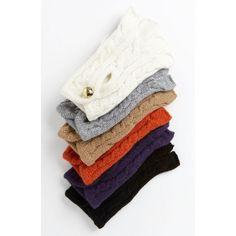 Soft Fingerless Gloves by Michael Kors