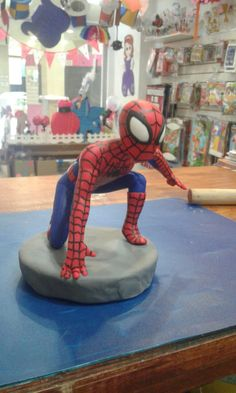Spider-Man porcelana fría