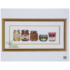 Preserves Counted Cross Stitch Kit