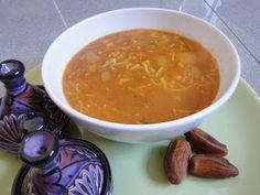 Mis Recetas Anticáncer: Sopa Harira de Verduras. Es vegana