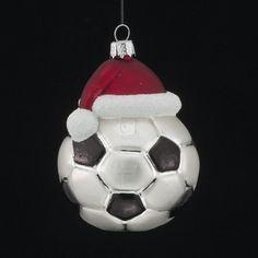 Noble Gems Soccer Ornament
