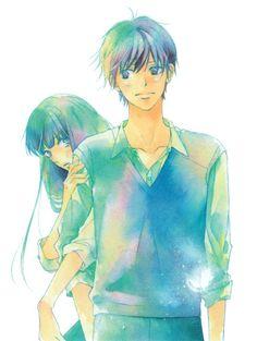 Sawako x Kazehaya ~ Kimi ni Todoke Kimi Ni Todoke, Sakura Anime, Manga Anime, Anime Art, Noragami Anime, I Love Anime, Me Me Me Anime, Kuroko, Ghibli