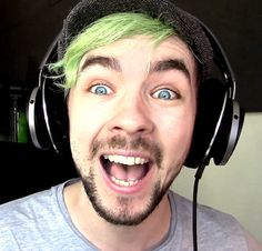 This, Ladies and Gentlemen, is the face of a man who is having fun.  therealjacksepticeye: Or a crazy man haha