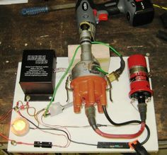 Ignition Testing Jig by billjam -- Homemade testing jig for a distributor-driven ignition system. http://www.homemadetools.net/homemade-ignition-testing-jig