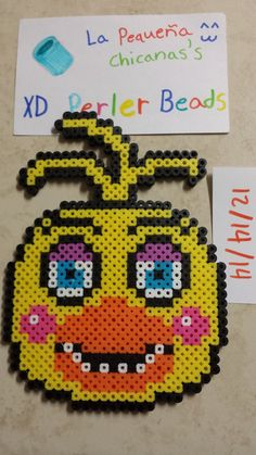 toy Chica perler beads by LaPequenaChicana