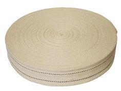Cotton Tie Webbing. $16/100ft