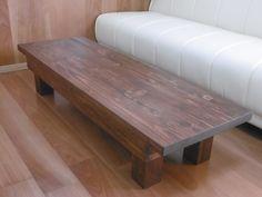 アンティーク調 折りたたみ式 ローテーブル 作業台画像1