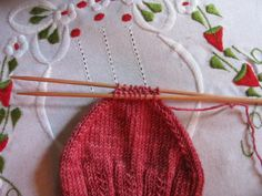 As a beginner sock knitter, just this summer, these strawberry socks were a breeze, using a free easy sock pattern I wanted to share with you. If you are wondering what knitting socks is like, how ...
