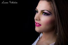 Makeup Colorido utilize productos de Kriolan