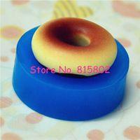 Freies Verschiffen TYL022U Donut Form Donut 22mm Silikon Flexible Form Decoden Kawaii Miniatur Mold Food Fimo Polymer Cabochon