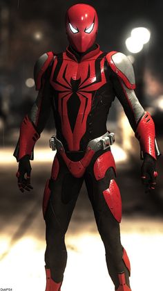 if Spiderman and Red Hood mixed?What if Spiderman and Red Hood mixed? Amazing Spiderman, Image Spiderman, Spiderman Pictures, Spiderman Art, Batman Art, Marvel Comics, Marvel Comic Universe, Marvel Heroes, Ms Marvel