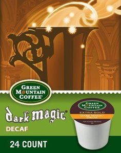 Green Mountain Coffee Dark Magic Decaf K-Cups, 24 Count (5 Packs) >>> Remarkable product available now. : K Cups
