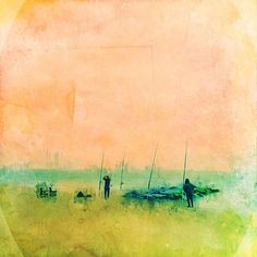 """MOBILE DIGITAL ART & MORE: A Gallery for the 21st Century // Cindy Patrick - """"The charm of fishing is that it is the pursuit of what is elusive but attainable, a perpetual series of occasions for hope."""" (John Buchan)"""