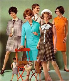 1968 catalogue fashions.