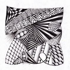 zentangles by laurie