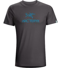 Arc'word T-Shirt Men's Cotton T-shirt with the classic combination Arc'teryx logo front and centre. Unique ink has a velvet finish. This product is available in Limited Edition (SMU) colours.