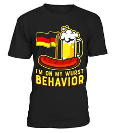 "# Wurst Behavior Funny German Oktoberfest Beer Gift T-Shirt . Special Offer, not available in shops Comes in a variety of styles and colours Buy yours now before it is too late! Secured payment via Visa / Mastercard / Amex / PayPal How to place an order Choose the model from the drop-down menu Click on ""Buy it now"" Choose the size and the quantity Add your delivery address and bank details And that's it! Tags: Beer Festival Oktoberfest Lov"