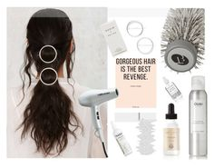 """""""Circle Clippers"""" by style-lena ❤ liked on Polyvore featuring beauty, Ouai, Ouidad, Grow Gorgeous, T3, Rodin, BaByliss Pro, Herbivore and hairtrend"""