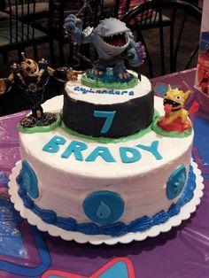 Skylanders theme cake May 2013
