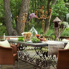 Outdoor Furniture And Fabric Ideas