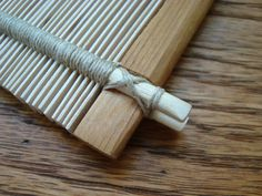 I can totally make a reed using this method.