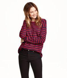 H&M Striped cotton top £14.99