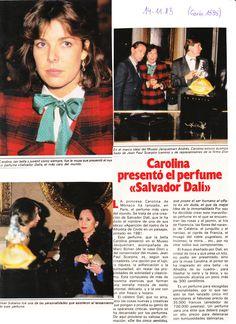 Princess Caroline of Monaco.-GARBO-November 14,1983. (page1)