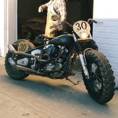 Brother Moto - Thanks for stopping by Benny Boy ( Amf Harley, Harley Bobber, Bobber Chopper, Scrambler Motorcycle, Moto Bike, Harley Davidson History, Bobber Style, Cool Motorcycles, Riding Gear