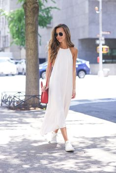 White Maxi via SomethingNavy