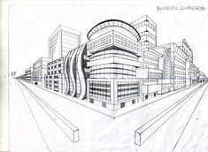 2 PT Perspective Lesson Plan | Point Perspective Art Projects http://foundationartsofbc.blogspot ...