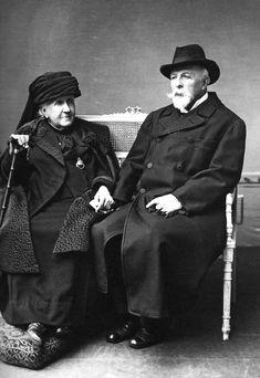 Princesa Isabel e Conde D´Eu, 1919. Foto de P. Gavelle.