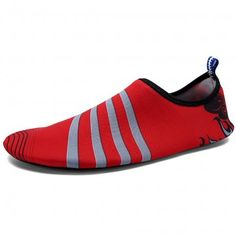 Red Aqua Shoes DFS-3