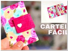 Some of you may not know that I got my start in business by sewing bags and wallets. Easy Crafts, Diy And Crafts, Patchwork Quilt, Sewing Essentials, Diy Wallet, Brother Sewing Machines, Sewing Leather, Sewing For Beginners, Couture