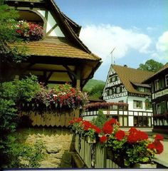 Town of Sasbachwalden in Germany's Black Forest