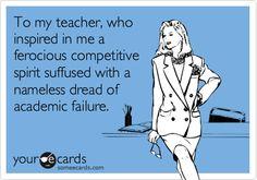 Fixed mindset... Carol Dweck.