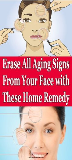 Erase All #aging Signs From Your Face with These Home Remedy