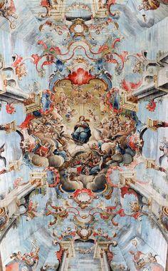 Mestre Ataíde - Glorificação de Nossa Senhora - Igreja de São Francisco 2 - Mestre Ataíde – Wikipédia, a enciclopédia livre