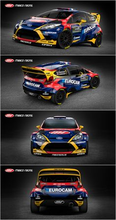 Design and wrap of Ford Fiesta WRC for Slovak Melico Racing team who will compete with driver Jaroslav Melichárek and his co-driver Erik Melichárek