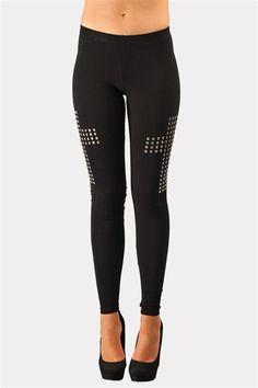 Side Swipe Cross Leggings - Black LOVE! Have to buy me a pair!