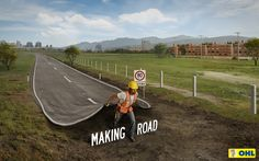 Client: OHL Highway Concessions Advertising Agency: Kastner & Partners, Mexico  Creative Directors: Omar Berlanga, Gibrán Sotelo Art Directors: Pablo Medina, Diego González Copywriter: Gibrán Sotelo Photographer: Manuel Santos / Gravity Cam