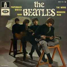 "doraemonmon: "" The Beatles Paperback Writer / Rain The Word / Nowhere Man """