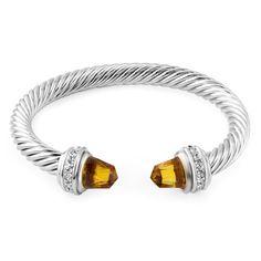 Pugster 12 Colors Cuff Bangle Bracelets Swarovski Elements Crystal