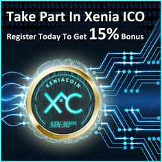 WE ARE XENIA! Make an #Investment and get 15% bonus. Only 19 ICO Days remaining. Hurry Up!  #XeniaCoin #XeniaTokenSale #XeniaPrepaidCard  #XeniaTeller #Cryptomining #Cryptoworld #ICO #Investment #Funding Crypto Mining, Investing, How To Get, Business, World, Day, Store, The World, Business Illustration