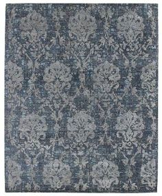 Erased Motif style #palmettes.  #Transitional design #rug part of the Fresco Collection at Landry & Arcari. http://hub.am/1nDdjio